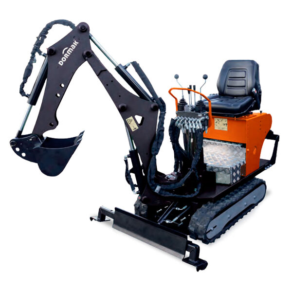 Mini-Excavadora Dormak DK-72.800-S 196 cc