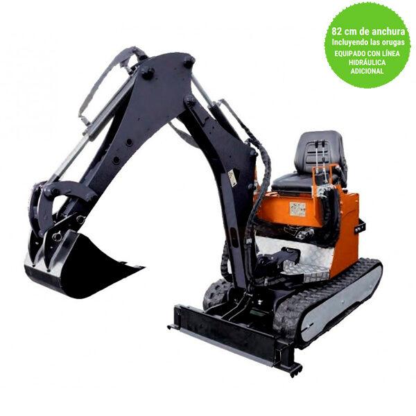 Mini-Excavadora Dormak DKT-82-1500-P+ Motor Kohler 429 cc