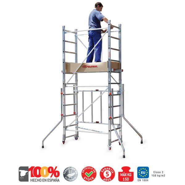 Aluminum scaffolding Faraone RAPIDO 140