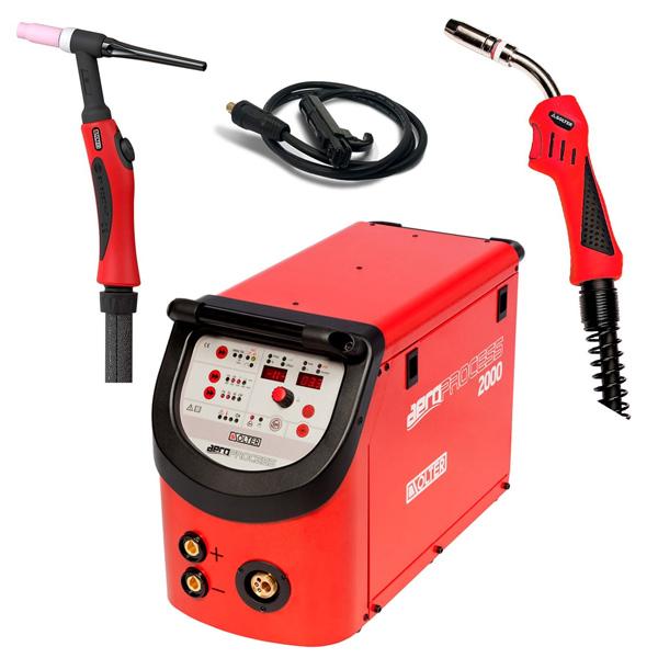 AEROPROCESS 2000 Welder Kit Multiprocess Kit 2000
